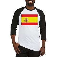 Spain Flag Baseball Jersey