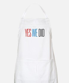 Obama Yes We Did BBQ Apron