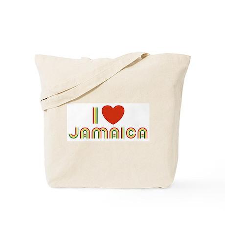 I Love Jamaica Tote Bag