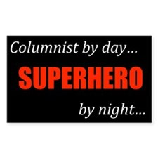 Columnist Gift Rectangle Decal