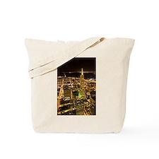 Transamerica Pyramid and Coit Tote Bag