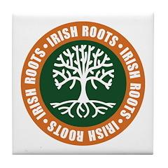 Irish Roots Tile Coaster