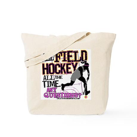 All Field Hockey Tote Bag