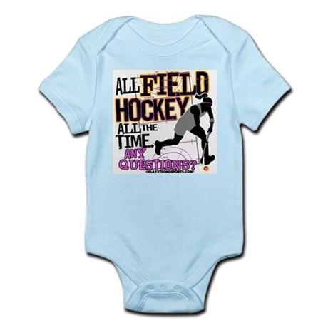 All Field Hockey Infant Bodysuit