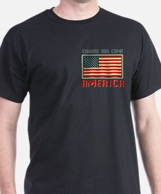 Change Has Come America Obama T-Shirt