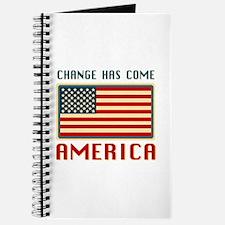 Change Has Come America Obama Journal