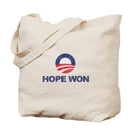 Hope Won (Obama) Tote Bag