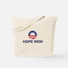 Hope Won (Obama) Tote Bag