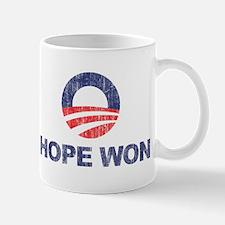 Hope Won (Obama) Mug