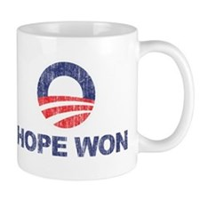 Hope Won (Obama) Small Small Mug