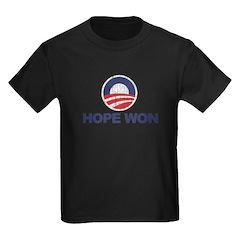 Hope Won (Obama) T