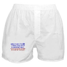 50th Gifts Boxer Shorts