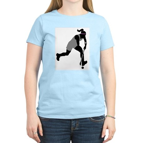Field Hockey Girl Women's Light T-Shirt