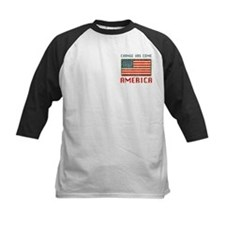 Change Has Come America Distressed Tee