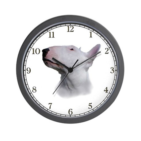 Bull Terrier Wall Clock