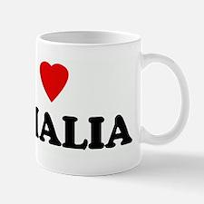 I Love SOMALIA Small Small Mug