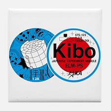 Kibo STS-123 Tile Coaster