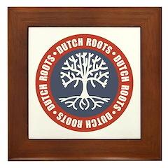 Dutch Roots Framed Tile