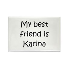 Cool Karina Rectangle Magnet