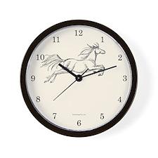 Equestrian Art Wall Clock