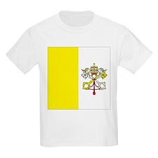 Vatican City Flag Kids T-Shirt