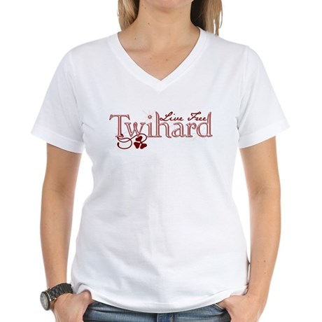 Twihard 2 Women's V-Neck T-Shirt