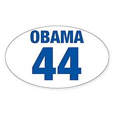 Obama #44 Oval Decal
