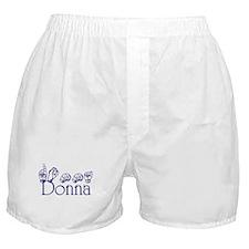 Donna Boxer Shorts