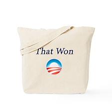 That Won: Tote Bag