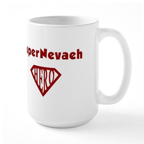 Super Hero Nevaeh Large Mug
