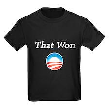 That Won: T