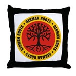 German Roots Throw Pillow