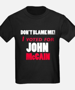 I Voted McCain T