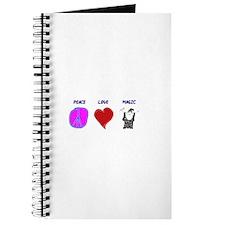 Peace Love Magic Journal