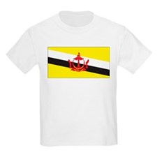 Brunei Flag Kids T-Shirt