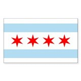 Chicago flag Single