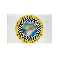 Rio de Janeiro Brazil Rectangle Magnet