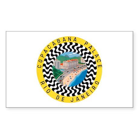 Rio de Janeiro Brazil Rectangle Sticker