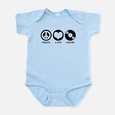 Peace Love House Infant Bodysuit