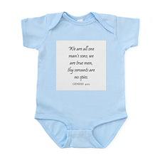 GENESIS  42:11 Infant Creeper