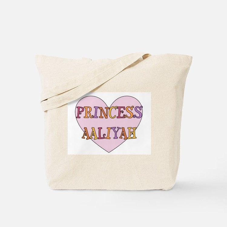 Princess Aaliyah Tote Bag