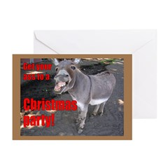 Get Your Ass To a Christmas Party Invitation Pk 10
