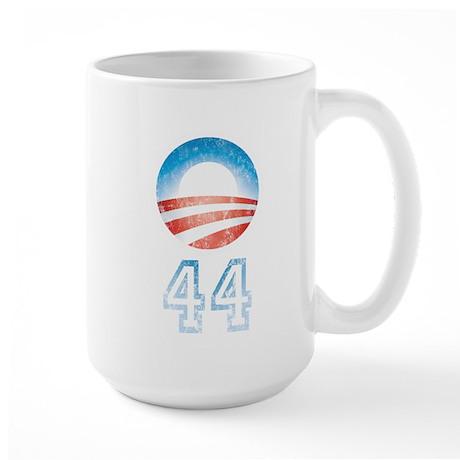 Barack Obama 44 Large Mug