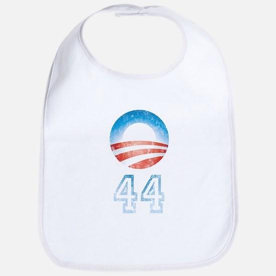 Barack Obama 44 Bib