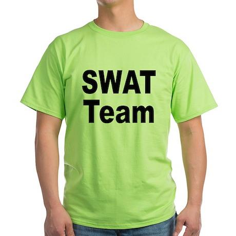 SWAT Team Green T-Shirt