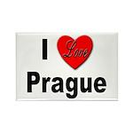 I Love Prague Rectangle Magnet (10 pack)