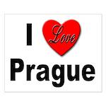 I Love Prague Small Poster