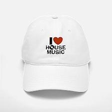 I Love House Music Baseball Baseball Cap
