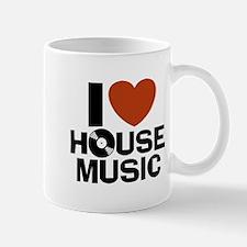 I Love House Music Mug