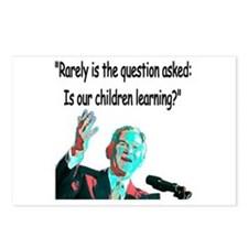 ...Is our children learning? Postcards (Package of